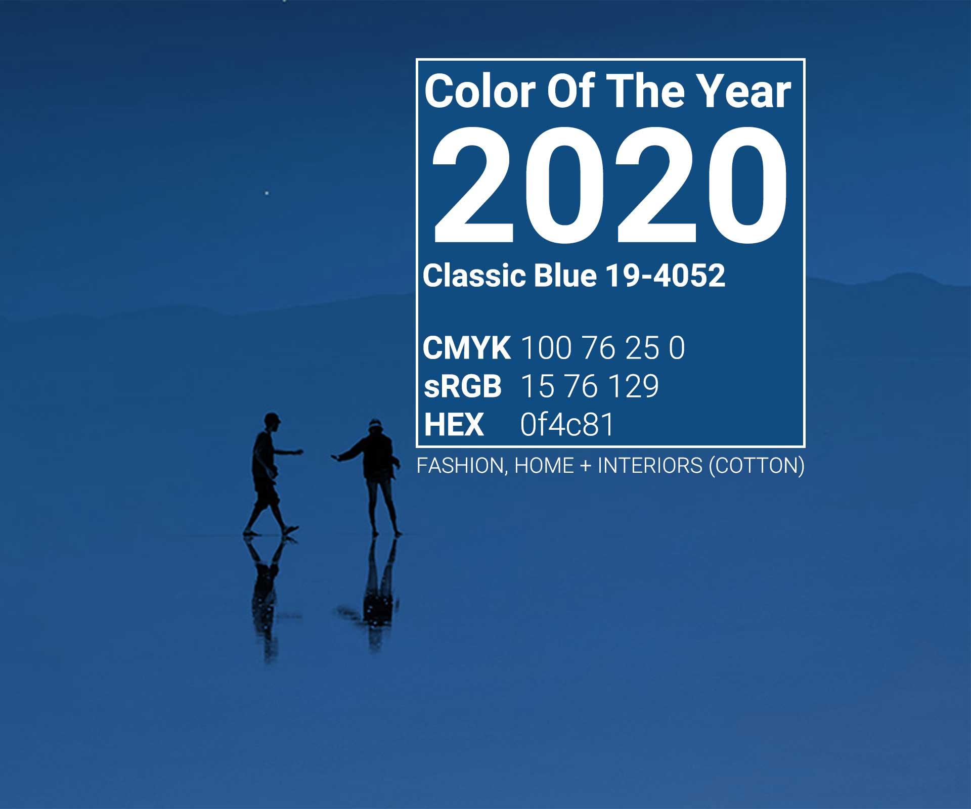 رنگ سال 2020